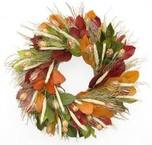 Fall Wreath - Organic