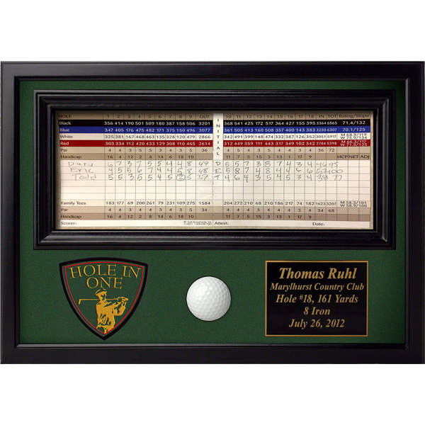 Golf Crest Hole in One Display