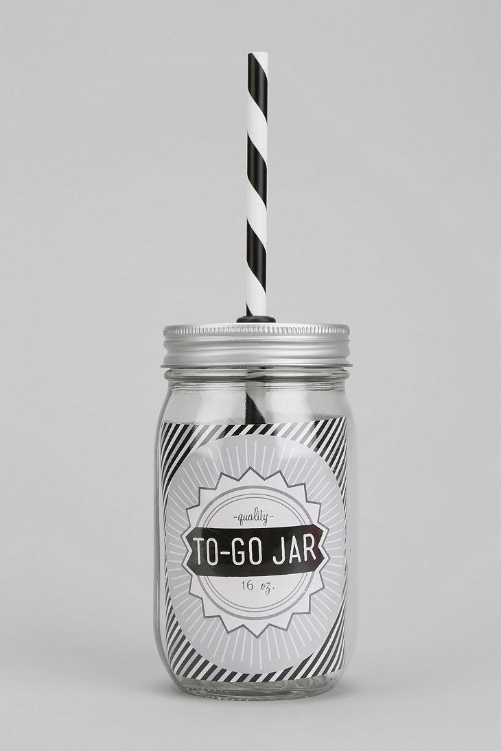 To Go Mason Jar Sipper Cup