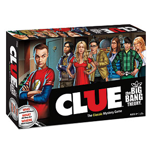 Big Bang Theory Clue Game