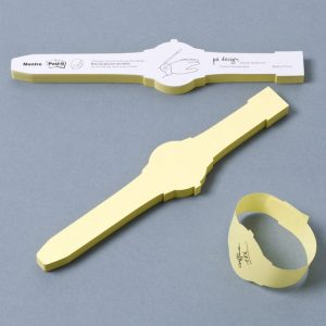 Post-It Sticky Note Wristwatch Bands