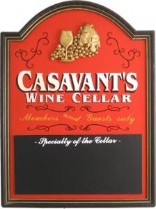 Wine Cellar Chalkboard