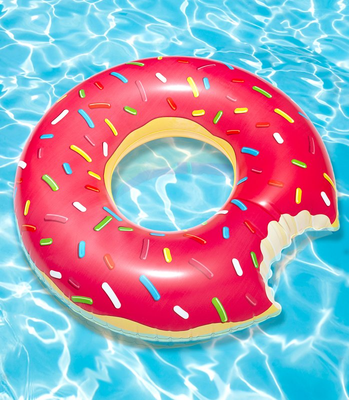Giant Donut Pool Floatie