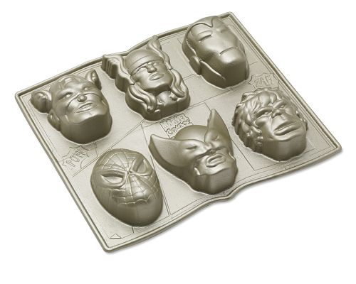 Marvel Comics Brownie Pan