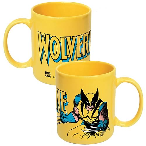 Wolverine Yellow Mug