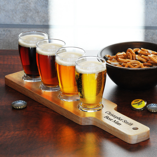 Personalized Flight Sampler Paddle