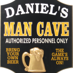 Image of Man Cave sign
