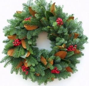 Noble Fir Christmas Wreath