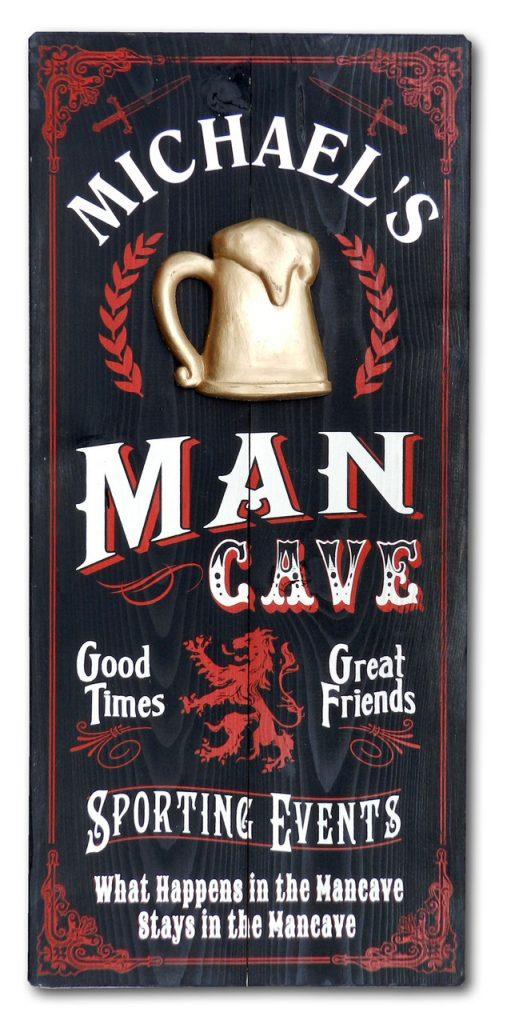 Man Cave Vintage Sign