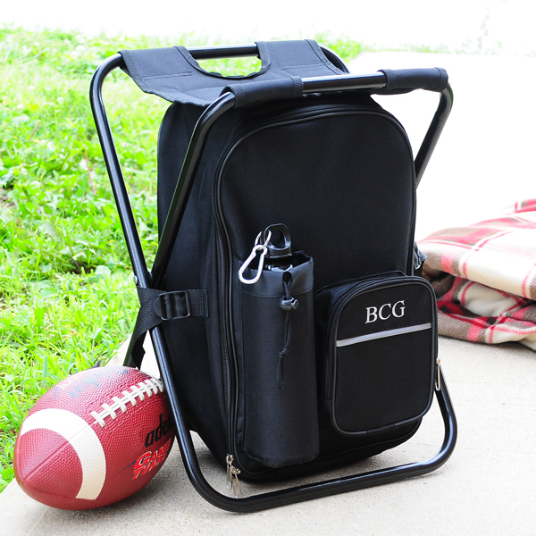 Personalized Tailgate Cooler Chair