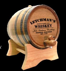 Custom Distillery Barrel