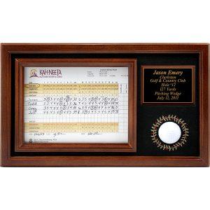 Golf Ball Memorable Moments Display