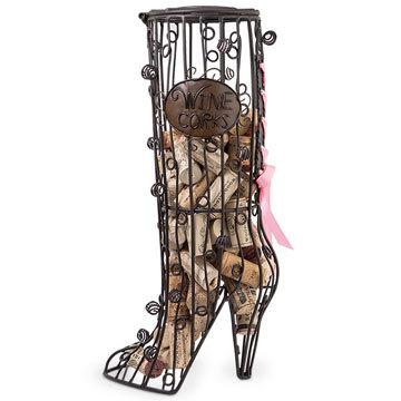 Wine Cork Cage High Heel Boot