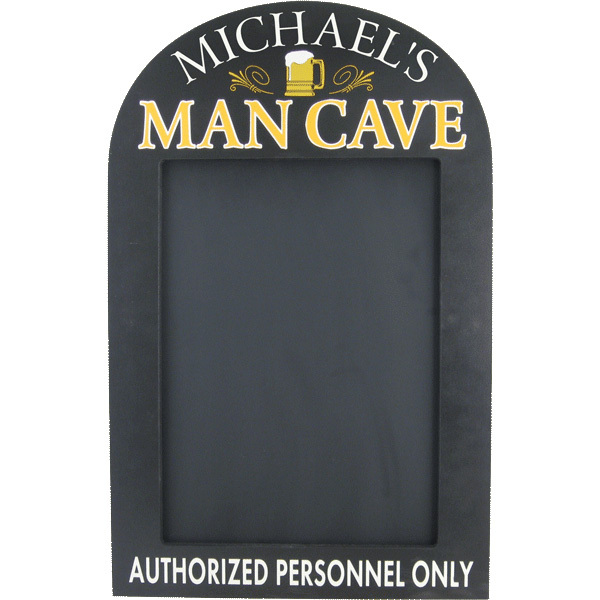 Personalized Man Cave Chalkboard
