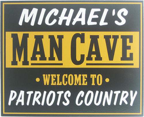 Team Name Man Cave Sign