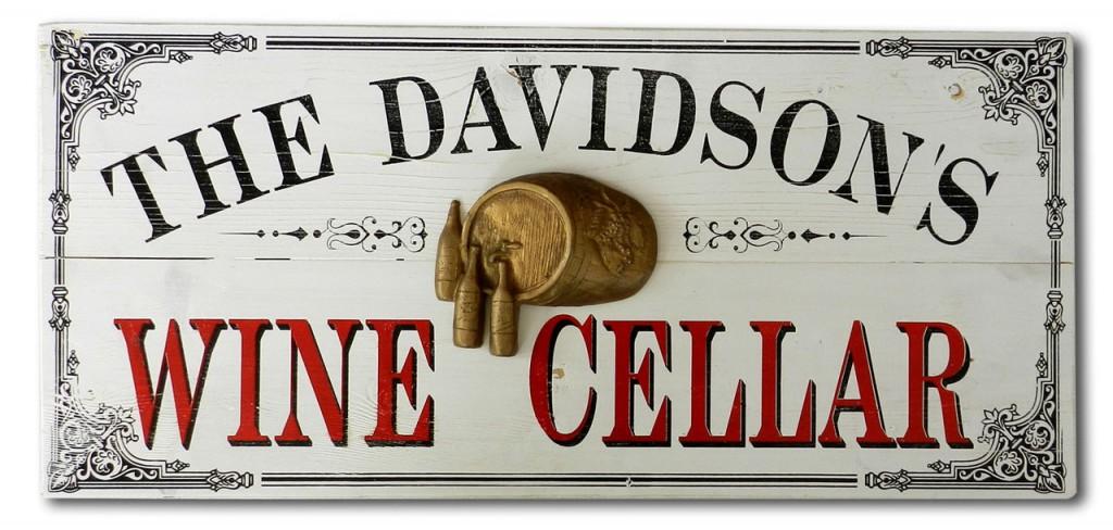 Distressed Wood Vintage Signs