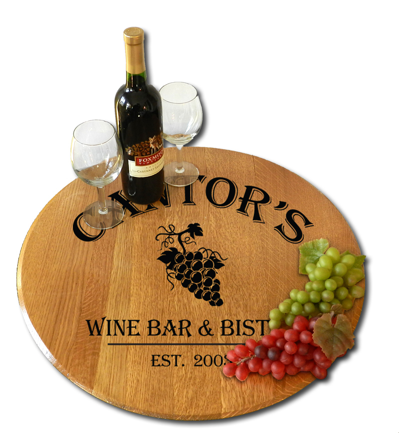 Custom Lazy Susan Christmas Gift Idea
