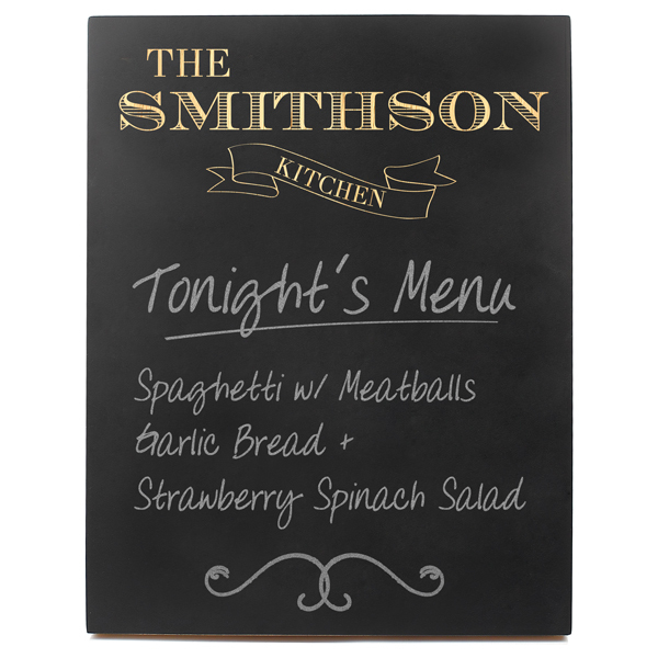 Chalkboard Plaque for Kitchen