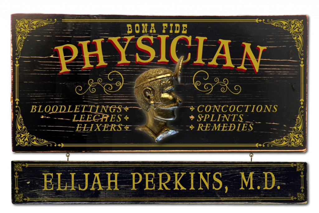 Personalized Professional Vintage Sign