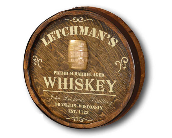 Whiskey Gift Ideas: Personalized Quarter Barrel