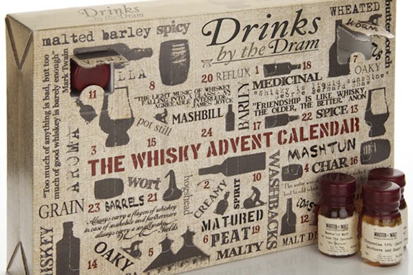 Whiskey Gift Ideas: Advent Calendar