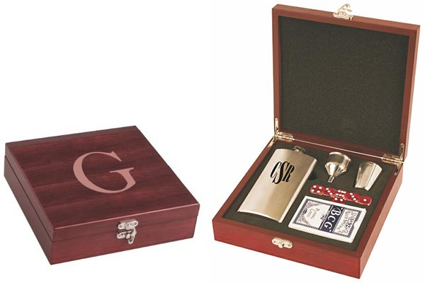 Whiskey Gift Ideas: Flask, Cards, Dice