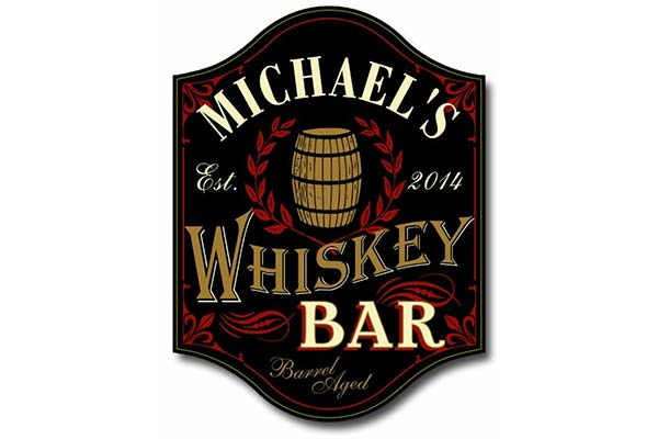 Whiskey Gift Ideas: Plaque