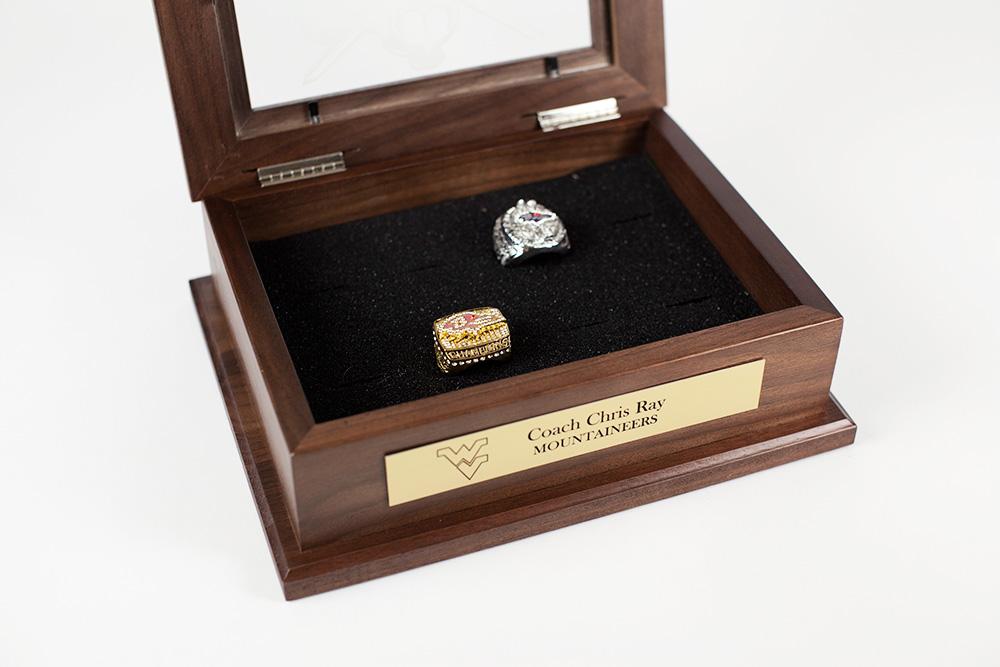Sports Ring Keepsake Box