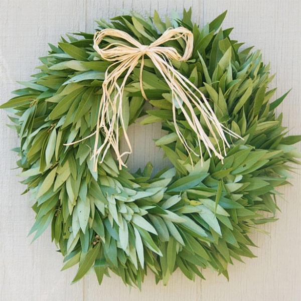 2017 Organic Holiday Wreaths
