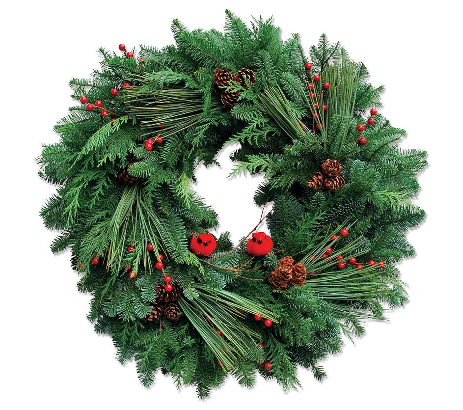 Organic Christmas Wreaths