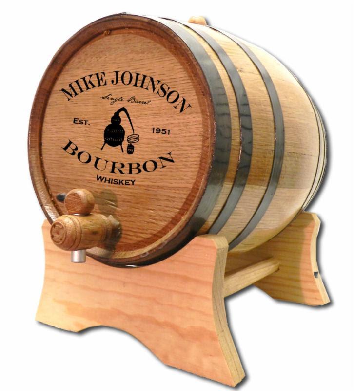 Bourbon Aging Barrel