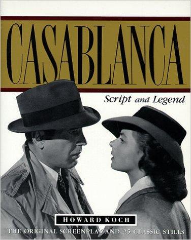 Casablanca Script Book