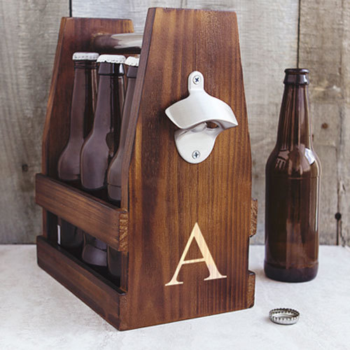 Beer Gifts - Rustic 6 Pack Case