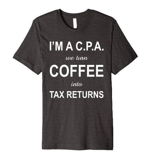 Accountant humor t-shirt