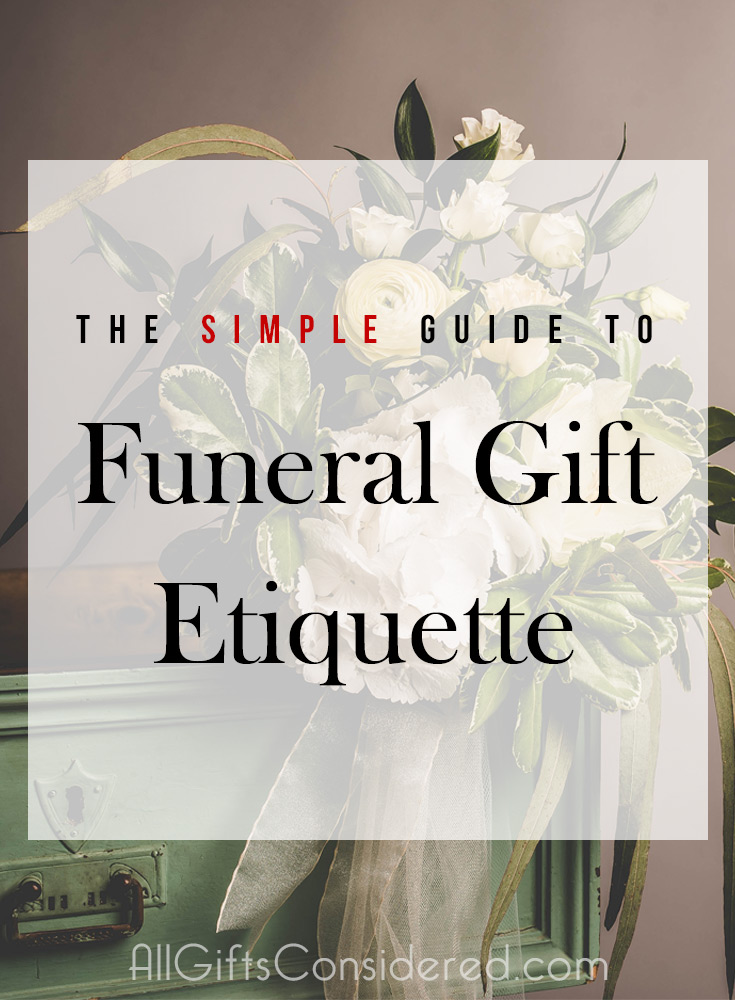 Should I bring a gift for a funeral?