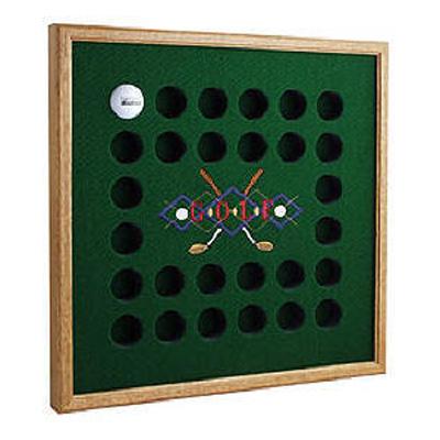Collectible Golf Ball Display Racks