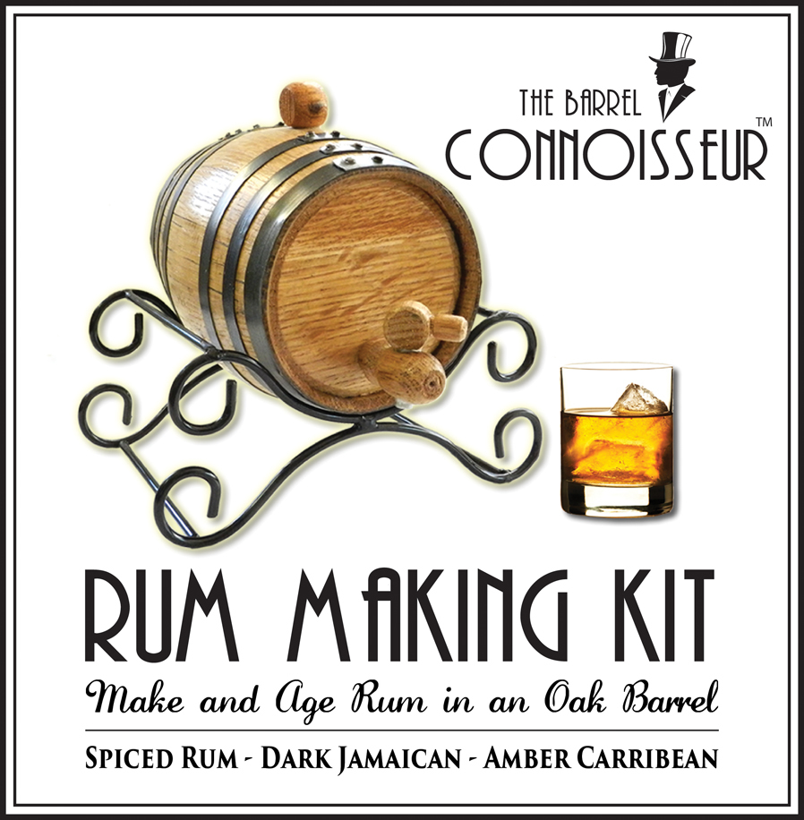 Make and age your own pirate's rum