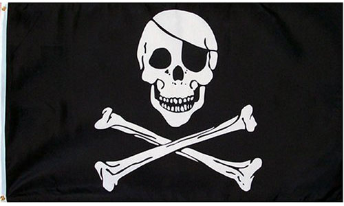 Pirate Flag for Pirate Bar