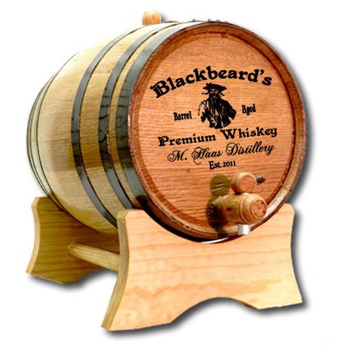 Personalized Pirate Barrel