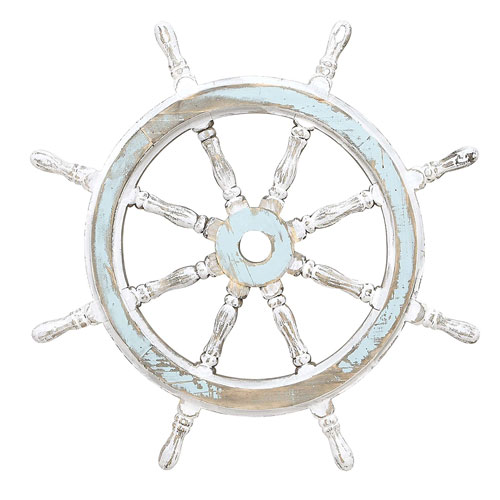 Pirate ships wheel for pirate home bar