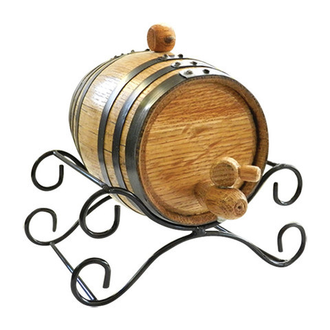Rum Barrel Kit for Pirate Themed Home Bar