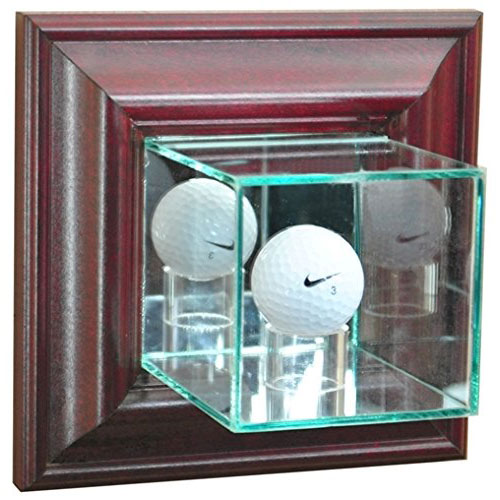 Glass Golf Ball Display