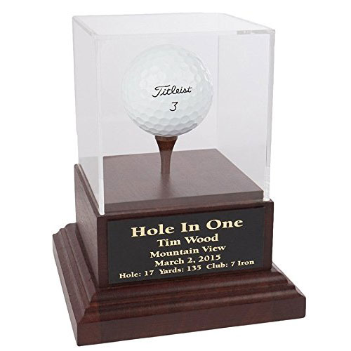 Collectible Golf Ball Display