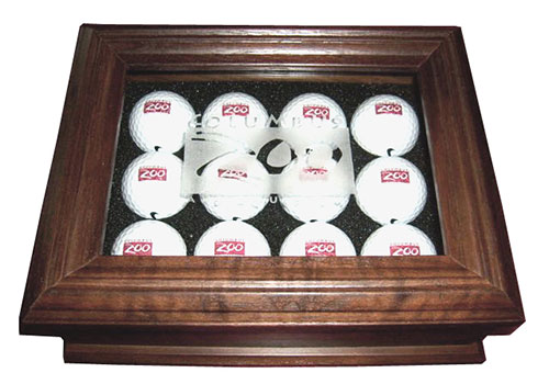 Golf Ball Keepsake Box