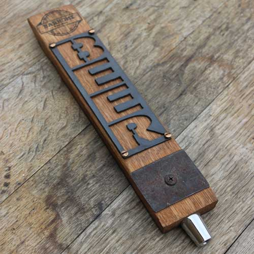 Personalized Barrel Stave Tap Handle