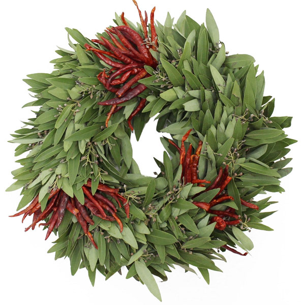 Christmas Wreaths with Spice!