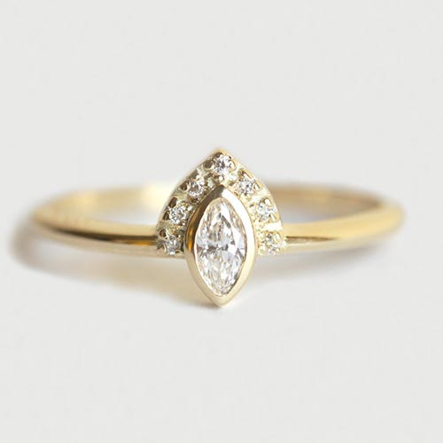 Handcrafted Engagement Rings