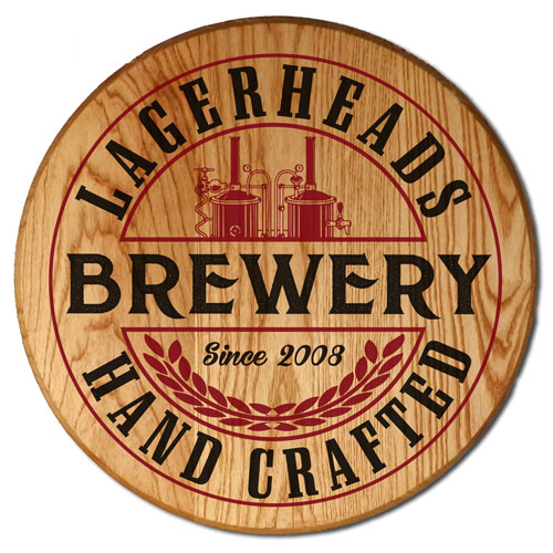 Customized Barrel Signs and Gifts