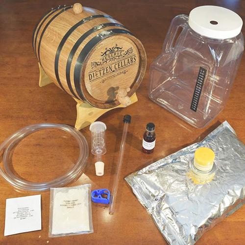 Wine Making Kit for Barrel Aged Wine