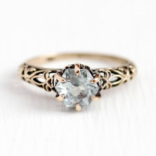 Vintage Engagement Rings are truly one-of-a-kind